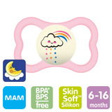 MAM Supreme Night Smokk 6-16 m, Rosa